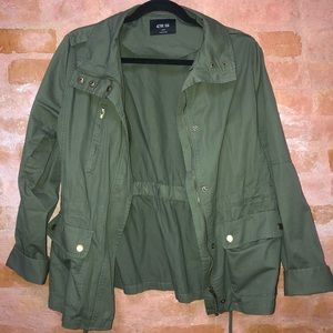 Army Green Light Utility Jacket